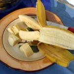 banana aperta