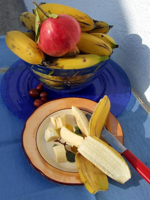 …e le banane sono mature!
