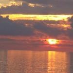 barca al tramonto dicembre