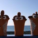 tre civette al mare