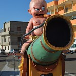 bebè sul cannone