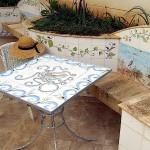 tavolo patio polpo